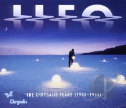 U.F.O. - Chrysalis Years (1980-1986) CD Cover Art