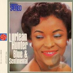 Hunter, Lurlean - Blue & Sentimental CD Cover Art