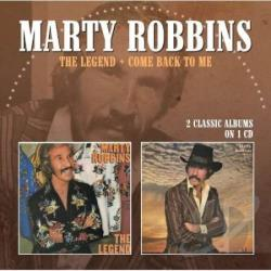 Robbins, Marty - Legend/Come Back to Me CD Cover Art