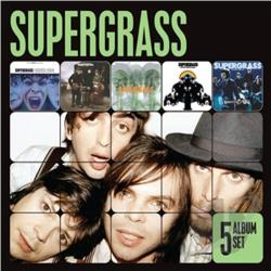 Supergrass - 5 Album Set CD Cover Art