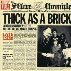 Jethro Tull - Thick as a Brick CD Cover Art