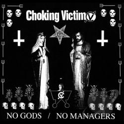 Choking Victim - No Gods, No Managers CD Cover Art