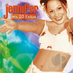Jennifer - Mis 20 Exitos CD Cover Art