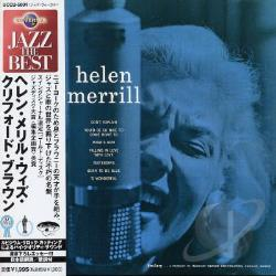 Merrill, Helen - Helen Merrill with Clifford Brown & Gil Evans CD Cover Art