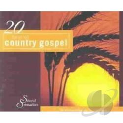 20 Best Of Country Gospel CD Cover Art