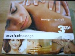 Musical Massage 3: Tranquil Rainfall CD Cover Art