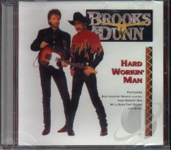 Brooks & Dunn - Hard Workin' Man CD Cover Art