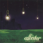 Allister - Before the Blackout CD Cover Art