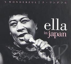 Fitzgerald, Ella - Ella in Japan: 'S Wonderful CD Cover Art