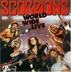 Scorpions - World Wide Live CD Cover Art