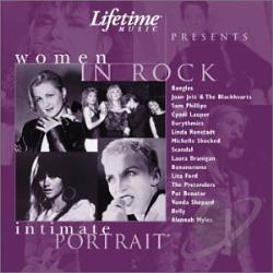 Lifetime Intimate Portrait: Women In Rock CD Cover Art