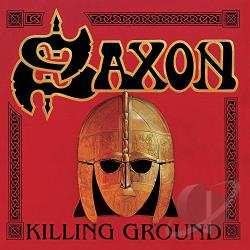 Saxon - Killing Ground CD Cover Art