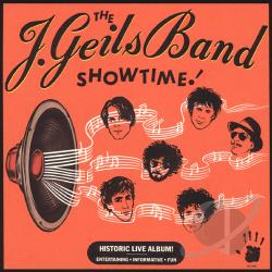 J. Geils Band - Showtime CD Cover Art