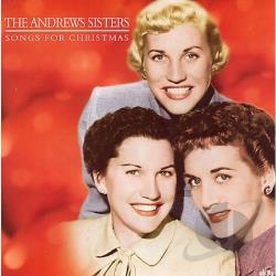 Andrews Sisters - Christmas Songs CD Cover Art