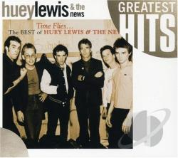 Lewis, Huey & The News - Greatest Hits: Time Flies...The Best Of CD Cover Art