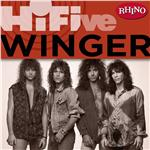 Winger - Rhino Hi-Five: Winger DB Cover Art