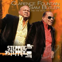 Fountain, Clarence / Sam Butler & the Boys - Stepping Up & Stepping Out CD Cover Art