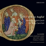 Alamire / Grebil / Lawrence-King / Skinner - Deo gracias Anglia! CD Cover Art