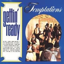 Temptations - Gettin' Ready CD Cover Art