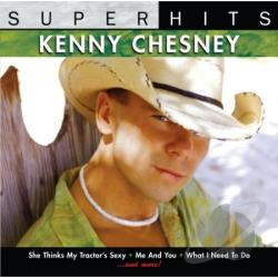 Chesney, Kenny - Super Hits CD Cover Art