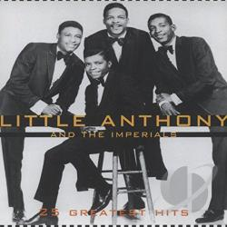 Little Anthony & The Imperials - 25 Greatest Hits CD Cover Art