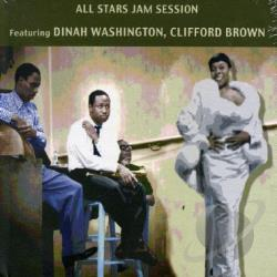 Washington, Dinah - All Stars Jam Session CD Cover Art