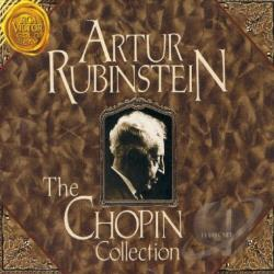 Rubinstein, Artur - Chopin Collection CD Cover Art