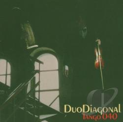 Duo Diagonal - Tango 040 CD Cover Art