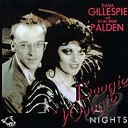 Gillespie, Dana - Boogie Woogie Nights CD Cover Art
