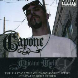 Capone - Chicano World CD Cover Art