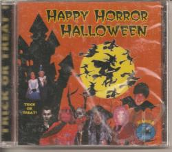 Happy Horror Halloween CD Cover Art