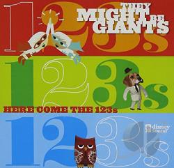They Might Be Giants - Here Come the 123's CD Cover Art