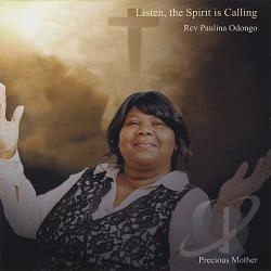 Rev Paulina Odongo - Listen the Spirit Is Calling CD Cover Art