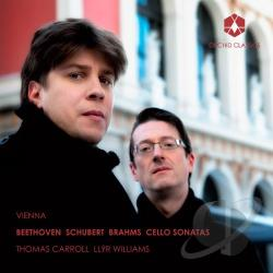 Beethoven / Brahms / Carroll / Schubert / Williams - Vienna CD Cover Art