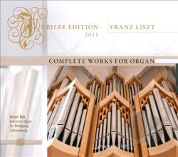 Ella, Istvan:org - Liszt: Complete Works for Organ CD Cover Art