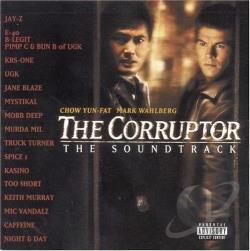 Corruptor-The Soundtrack - Corruptor CD Cover Art