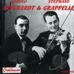 Reinhardt, Django - Django Reinhardt and Stephane Grappelli CD Cover Art