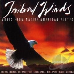 Tribal Winds: Music From Native American Flutes CD Cover Art