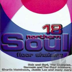 18 Northern Soul Floor Shakers CD Cover Art
