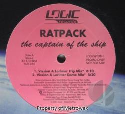 Ratpack - Captain of the Ship LP Cover Art