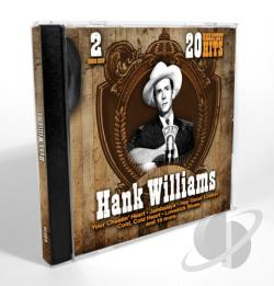 Williams, Hank - 20 Greatest Hits CD Cover Art