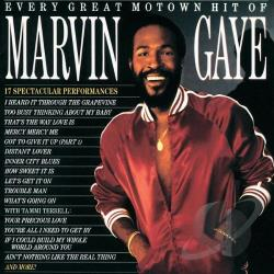 Gaye, Marvin - Every Great Motown Hit of Marvin Gaye CD Cover Art