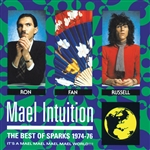 Sparks - Mael Intuition: The Best of Sparks 1974-1976 CD Cover Art