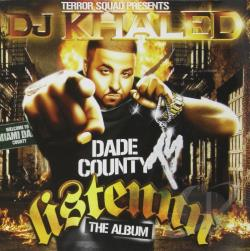 Khaled, DJ - Listennn: The Album CD Cover Art