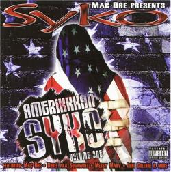 Syko - Amerikkkan Syko CD Cover Art
