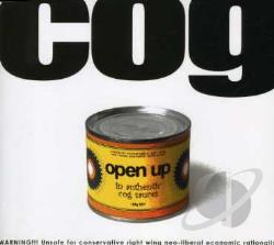 COG - Open Up CD Cover Art