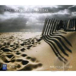 Parle, Nicholas - Bach: Keyboard Partitas CD Cover Art