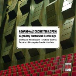 Lang / Leipzig Gewandhaus Orchestra / Sanderling - Legendary Masterworks Recordings CD Cover Art
