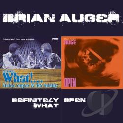 Auger, Brian / Auger, Brian & The Trinity / Driscoll, Julie / Julie Driscoll & Brian Auger / Trinity - Definitely What!/Open CD Cover Art