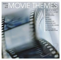 Simply the Best Movie Themes CD Cover Art